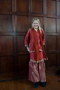 Annie in a Sharara.