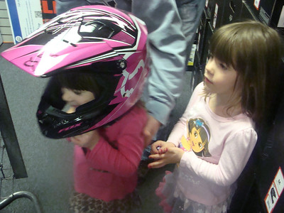Girls' birthday gift - Honda dirtbike