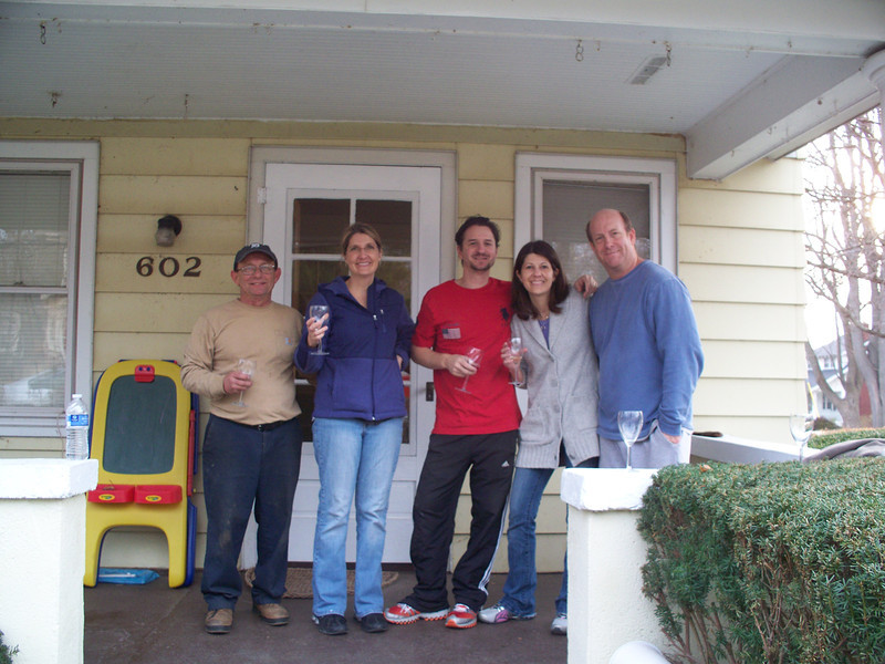 L to R:  Ben, Laurie, Jesse, Gloria, John