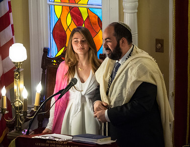 Goldie's Bat Mitzvah, The Service May 7, 2016