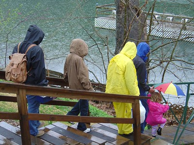 Rainy day at Lake Taneycomo