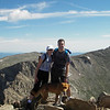 At the top of Mount Bierstadt in Colorado. 14,065 feet.