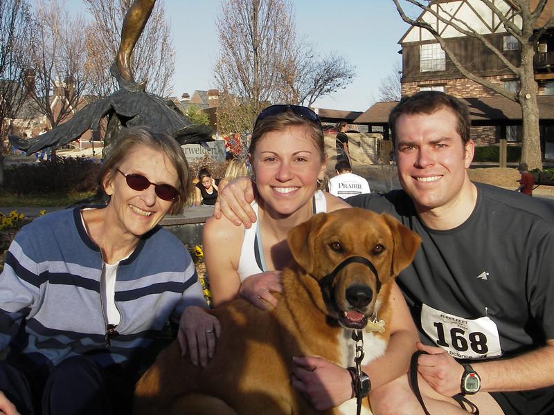 New Year's run in Tulsa, OK