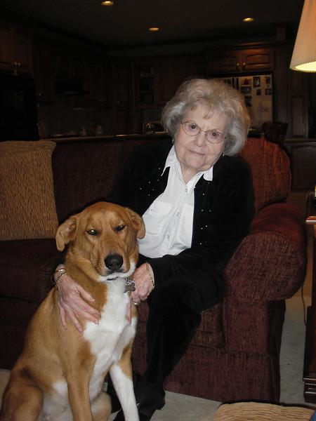 Sam loved Grandma Grandma Dot and the feeling was mutual.