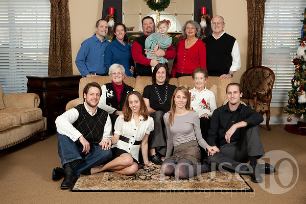 Goodwin Family - Christmas 2010