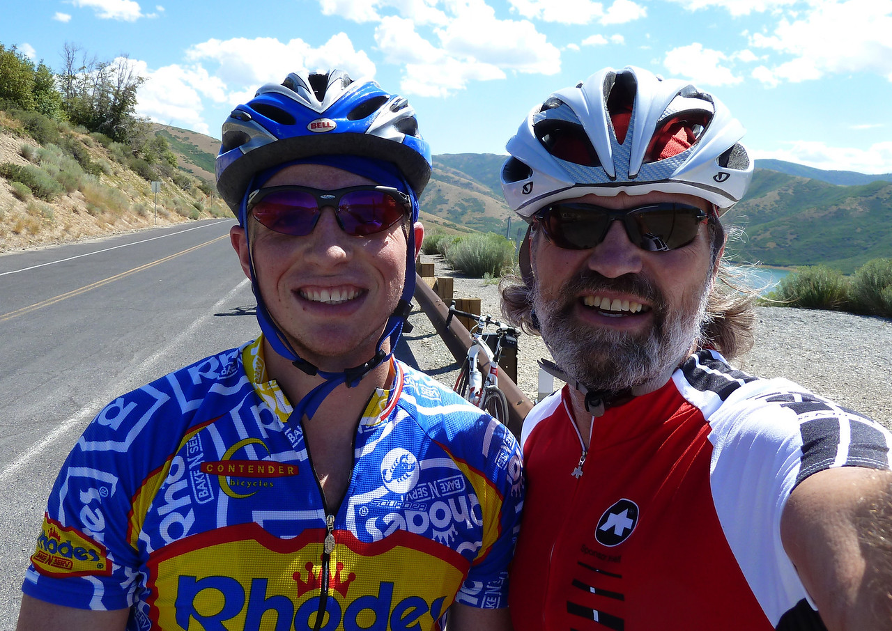 with ex-biker stud, Uncle Rob!