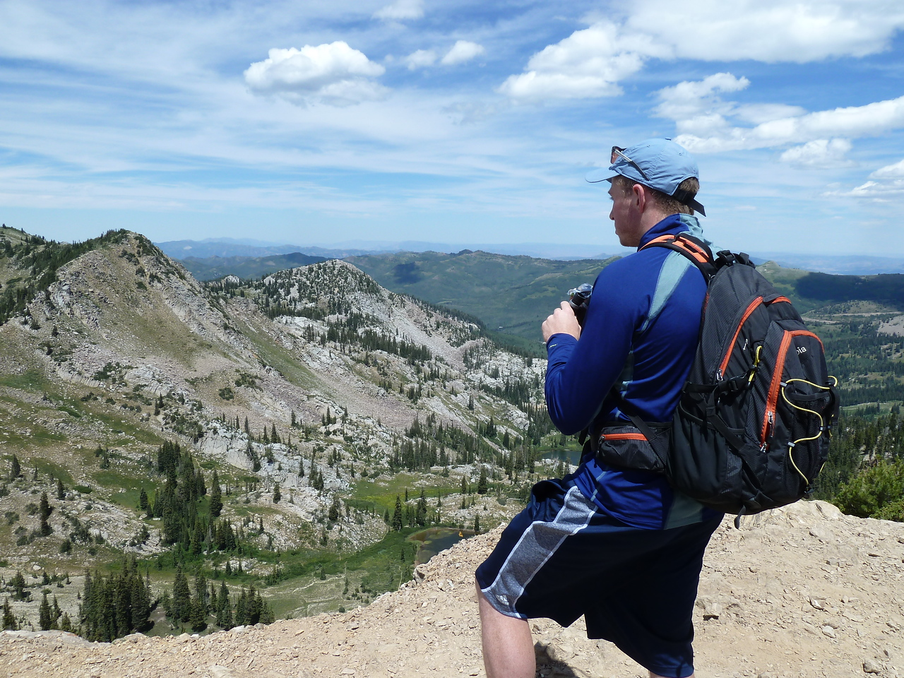 The summit!  Sunset Peak, one of our favorite spots in the Wasatch