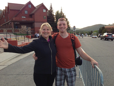 """Park City resort to grab the shuttle bus after a """"terrific"""" dinner at Adolf's, one of the few Park City restaurants worth avoiding at all costs."""