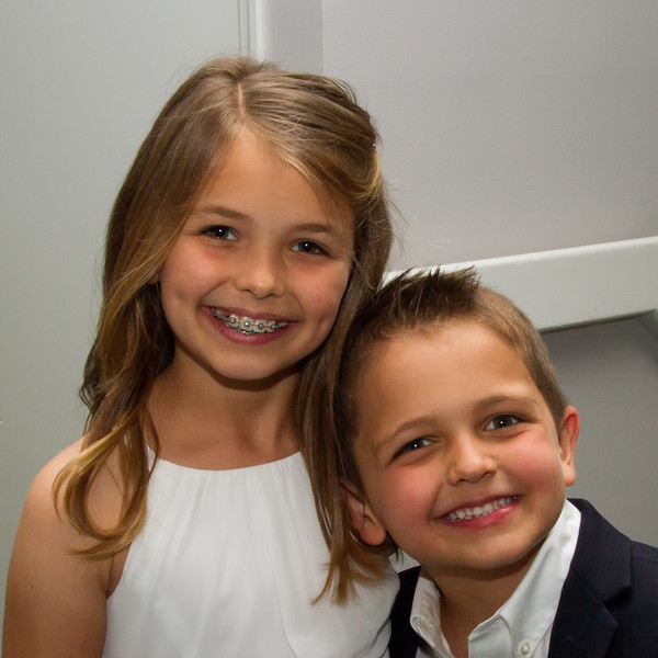 Ella and Kye Johnson, children of Julie & Kyle Johnson (Marty & Cindy Cavato's grandkids)