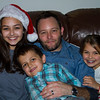 Kyle Johnson (Julie Cavato Johnson's husband) with their kids:  Laney, Kye and Ella.