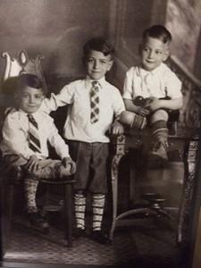 """Left to right:  Joseph Cavato, Frank """"Toddy"""" Cavato and Ed Cavato."""