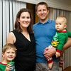 Jessica (Grafton) & Craig Dean with sons Tommy and Max.  Jessica is daughter of Cindy Cavato
