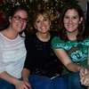 Cindy Cavato with daughters Courtney and Jessica.  Courtney, Cindy and Jessica.