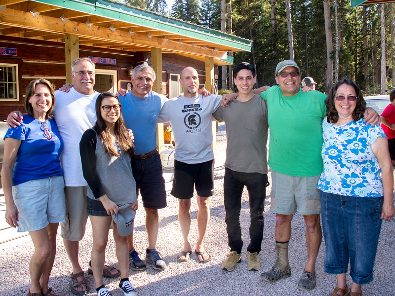 Talarico family reunion in Montana, June 2016.  Marty Cavato with all the kids of Genevieve (Govednik) & Tom Talarico.  L to R:  Patty (Talarico) Hart, Fred Talarico, Vivian Talarico (daughter of Tony Talarico, deceased), Marty Cavato, Marty Talarico, Thomas Talarico (son of Tony Talarico, deceased), Tom Talarico and Jane (Talarico) DeAcetis.