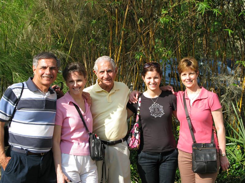Marty Cavato, Cindy Cavato, Joseph Cavato, Megan (Reeves) Caldwell (daughter of Kim (Cavato) Riedy, Kim (Cavato) Riedy