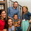 Julie (Cavato) & Kyle Johnson with Laney, Ella and Kye.  Julie is Marty Cavato's daughter.