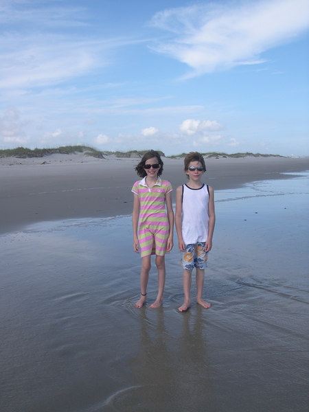 Grace and Chance in Bare Island 2006.