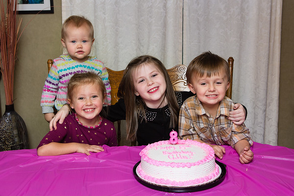 Addie's 8th Bday
