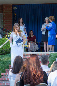 Cheyenne receives Diploma