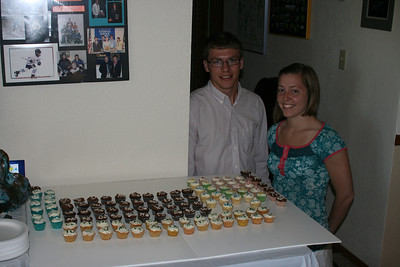 Tyler & Alisa - designers of the minicupcake Periodic Table
