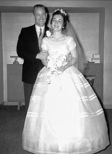 Grady & Mary Clare Kane, Holy Spirit Catholic Church, St. Paul, MN, July 16, 1960.