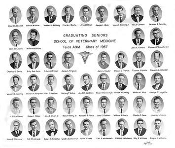 Veterinary Medicine Graduating Seniors '57