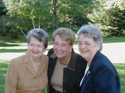 Mary Clare and I journeyed to St. Paul for her 50th High School Reunion in September.  Sue Cardinal, Marlene Allard, and Mary Clare reminisced and partied, while Arnie and I passed the time.