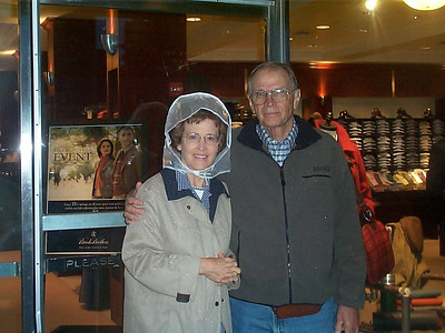 John and Peggy McCampbell - one of five couples on the Nova Scotia Cruise out of NY with us in mid-October, 2004.  All five of the men graduated from Roy Miller High School in 1951.