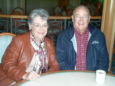 Grady and Mary Clare Kane - on the Nova Scotia Cruise out of NY in mid-October, 2004.