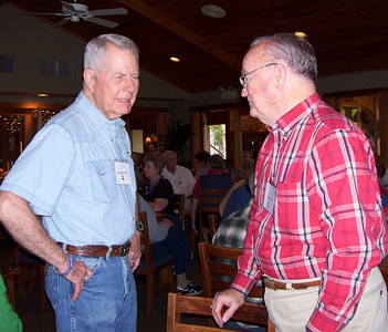 April 11-19, 2007; trip to Bandera, Texas, for Class of 1951 High School Reunion at Flyin L Guest Ranch.  About 60 classmates, spouses, and friends were in attendance.  Gerald Schulz and Grady Kane.