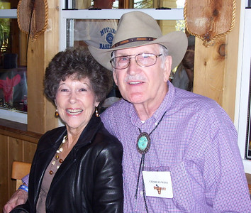 April 11-19, 2007; trip to Bandera, Texas, for Class of 1951 High School Reunion at Flyin L Guest Ranch.  About 60 classmates, spouses, and friends were in attendance.  Charlie West and Joann (Bethel) Kemp.