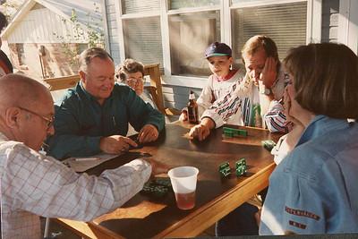 Celebrating Cindy Kane's August 6th birthday, Denison, Texas, August 10, 1998