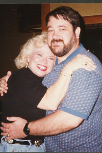 Kandy and John. Celebrating Cindy Kane's August 6th birthday, Denison, Texas, August 10, 1998