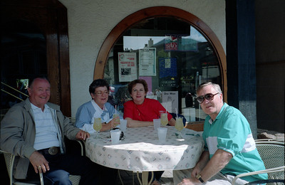Grady and Mary Clare Kane with Paul and Tina Stewart, Vail, Colorado, late July 1990