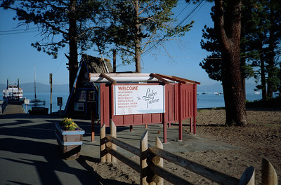 After visiting the Roth's, Grady and Mary Clare Kane made an overnight stop in Lake Tahoe, California, late July 1990