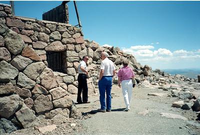 Ruth and John Barkley Visit (June 1990)