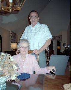 Mayme Galligan and Arnie Cardinal, Saint Paul, Minnesota, ca. September 1988