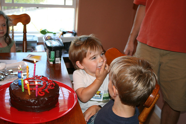 Grady's 4th Birthday