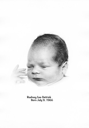Rodney Lee Detrick Birth
