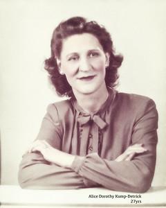 Alice Dorothy Kump-Detrick