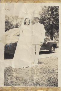 Grammy's sister Kay, on her wedding day.