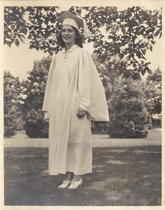 Grammy Bert, at her high school graduation.