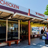 """Breakfast at, """"Roscoe's Chicken and Waffel House"""" on Pico and Le Brea in Los Angeles."""