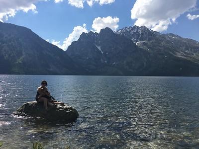 Jenny Lake; Grand Tetons NP