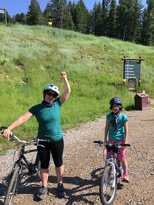 mtn biking in Jackson Hole