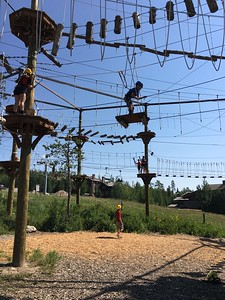 Ropes course in Jackson Hole!