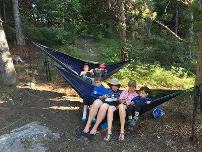 Jenny Lake Campground; Grand Tetons NP