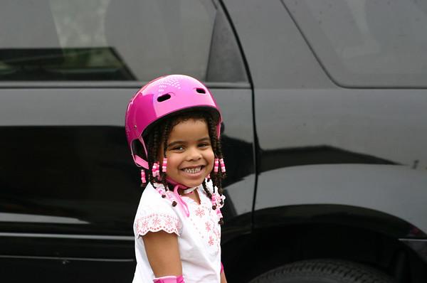 Grand daughter visit July 2007