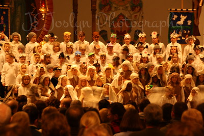 St. Michael, MN, 1st to 3rd grade Christmas Pagent.  December 17, 2009.