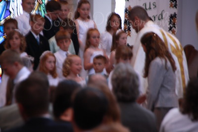 GD-3 1st Communion, 4-25-2010  Blurry, but shows her smiles which never went away.